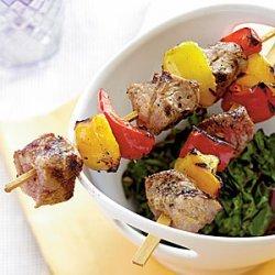 Tuscan Pork Kebabs recipe