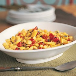 Summer Squash with Tomatoes and Basil recipe