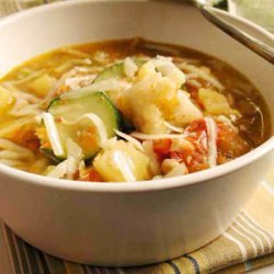 Minestrone Soup with Soybeans recipe