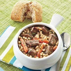 Savory Lamb Stew recipe