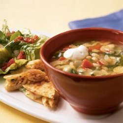 White Bean-Rajas Soup recipe