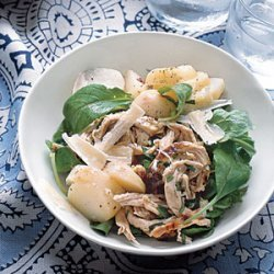 Chicken Salad With Potatoes and Arugula recipe