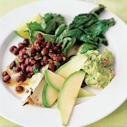 Black Beans and Escarole Salad recipe