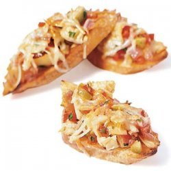 Artichoke and Red Pepper Bruschetta recipe