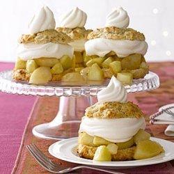 Pear and Apple Shortcakes recipe