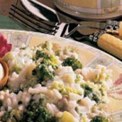 Broccoli with Rice recipe