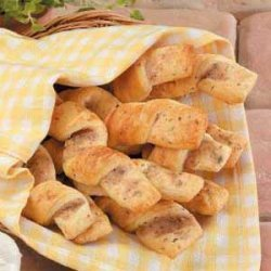 Garlic Herb Twists recipe