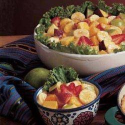 Tangy Fruit Salad recipe