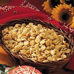 Snack Crackers recipe