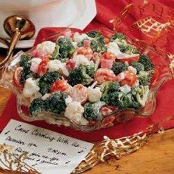 Christmas Crunch Salad recipe