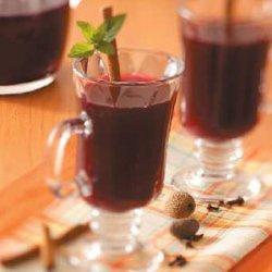 Mulled Grape Cider recipe