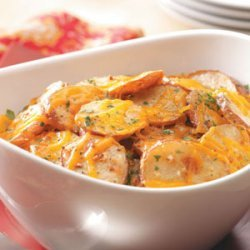 Cheese and Onion Potatoes recipe