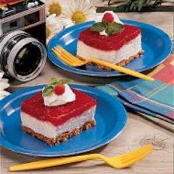 Raspberry Marshmallow Delight recipe