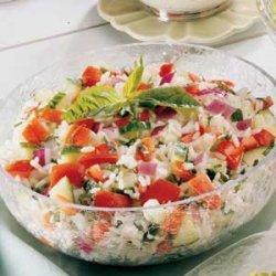 Basil Tomato Salad recipe