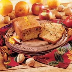 Apple Orange Bread recipe