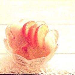 Creamy Peach Sherbet recipe