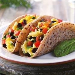Blue Corn Breakfast Taco recipe