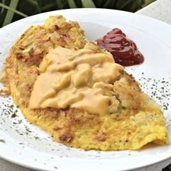 Potatoes, Eggs, and Cheese recipe