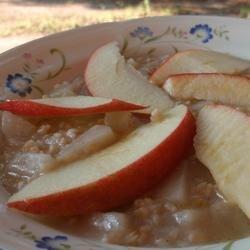 Apple Pie Oatmeal Breakfast recipe