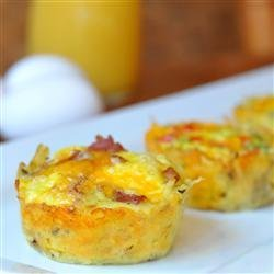 Bird's Nest Breakfast Cups recipe