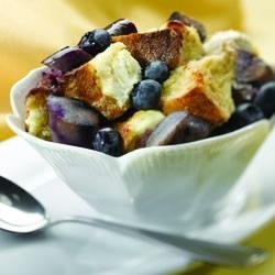 Wild Blueberry Breakfast Pudding recipe
