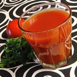 Homemade Tomato Juice Cocktail recipe