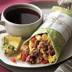 Beef Breakfast Burrito recipe