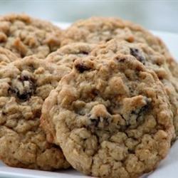 Oatmeal Raisin Cookies I recipe