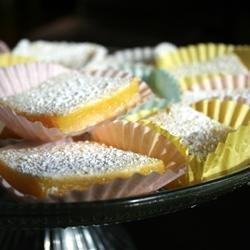 Bake Sale Lemon Bars recipe