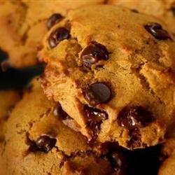 Pumpkin Chocolate Chip Cookies III recipe