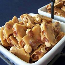 Microwave Oven Peanut Brittle recipe