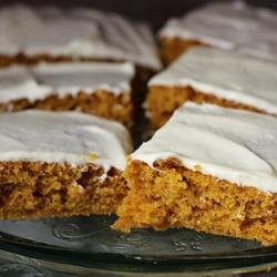 Paul's Pumpkin Bars recipe