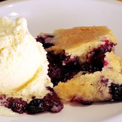 Best Ever Blueberry Cobbler recipe