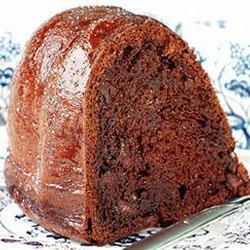 Lisa's Chocolate Chocolate Chip Cake recipe