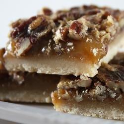 Pecan Pie Bars I recipe