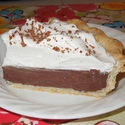 Chocolate Cream Pie II recipe