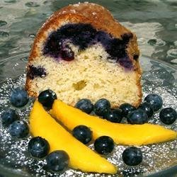 Blueberry Cream Cheese Pound Cake I recipe