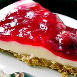 The Best Unbaked Cherry Cheesecake Ever recipe