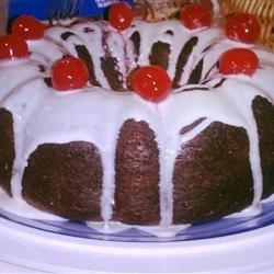 Chocolate Cherry Cake III recipe