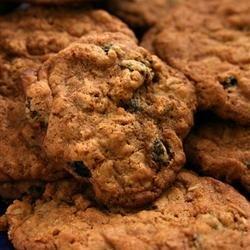 Oatmeal Raisin Cookies VI recipe