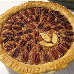Chocolate Pecan Pie III recipe