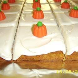 Pumpkin Bars I recipe