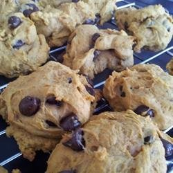 Pumpkin Chocolate Chip Cookies I recipe