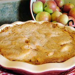 Easy Swedish Apple Pie recipe