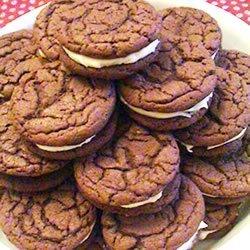 Homemade Chocolate Sandwich Cookies recipe