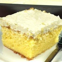 Lemon Cooler Cream Cake recipe