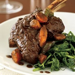 Braised Lamb Shanks with Coriander, Fennel, and Star Anise recipe