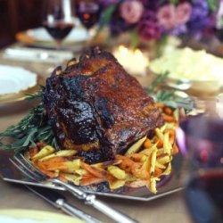 Buffalo Prime Rib with Orange Balsamic Glaze recipe