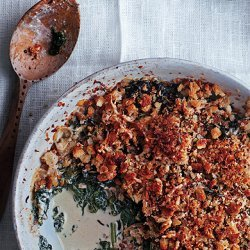 Winter Greens Gratin recipe