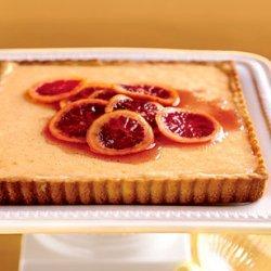 Fresh Orange Tart with Hazelnut Crust recipe